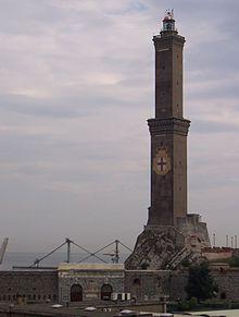 La Lanterna di Genova, simbolo del capoluogo