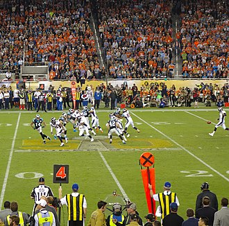 2015–16 NFL playoffs - The last punt of Super Bowl 50