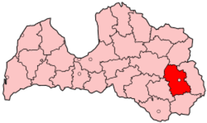 Rēzekne District - Image: Latvia Rezekne