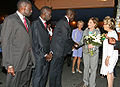 Laura Bush with Senegalese Ministers June 25, 2007.jpg