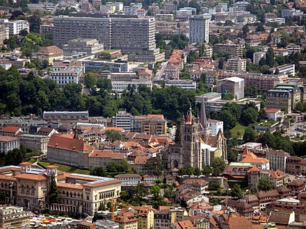 Lausanne, capital and largest city in Vaud