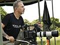Lawrence Wahba filmando no Pantanal em 2018.jpg