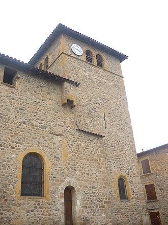 Le Breuil, Rhône - The Church of Saint Pancrace