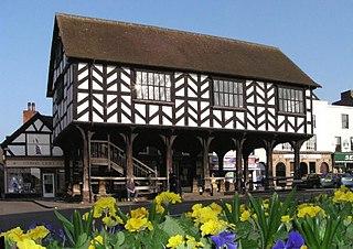 Ledbury market town in Herefordshire, England, UK
