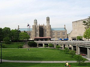 Lehman College - Plaza and Music Building