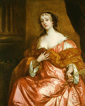 Windsor Beauties - Image: Lely (1670) Elizabeth Hamilton (1640 1708)