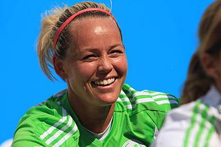 Leni Larsen Kaurin Norwegian footballer