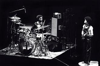Lenny White - Image: Lenny White & Stanley Clarke