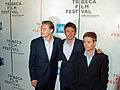 Leonardo DiCaprio, Lukas Haas and Kevin Connely by David Shankbone.jpg