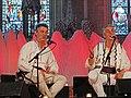"""Les frères Dervishi, deux chanteurs albanais de Macédoine dans lAbbatiale de Saint-Florent-le-Vieil, Concert """"Chant et flûtes des bergers"""", Festival Les Orientales (Saint-Florent-Le-Vieil).jpg"""