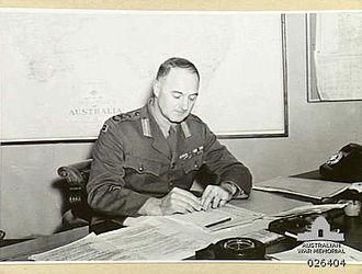 Leslie Beavis - Major General Leslie Beavis, August 1942