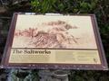 Lewis and Clark Salt Works Information sign.png