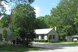 Manorville, New York - Headquarters of Long Island Central Pine Barrens in the community
