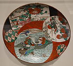 Li Bo Riding a Carp, Kutani ware, Japan, 19th century, porcelain - Cincinnati Art Museum - DSC03172.JPG