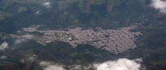 Líbano, Tolima - aerial photo of Líbano.