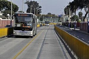 Lima Peru Metropolitano Bus