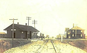 Limon Colorado Railroad Station 1909.jpg