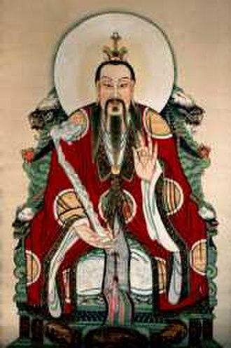 Three Pure Ones - Lingbao Tianzun