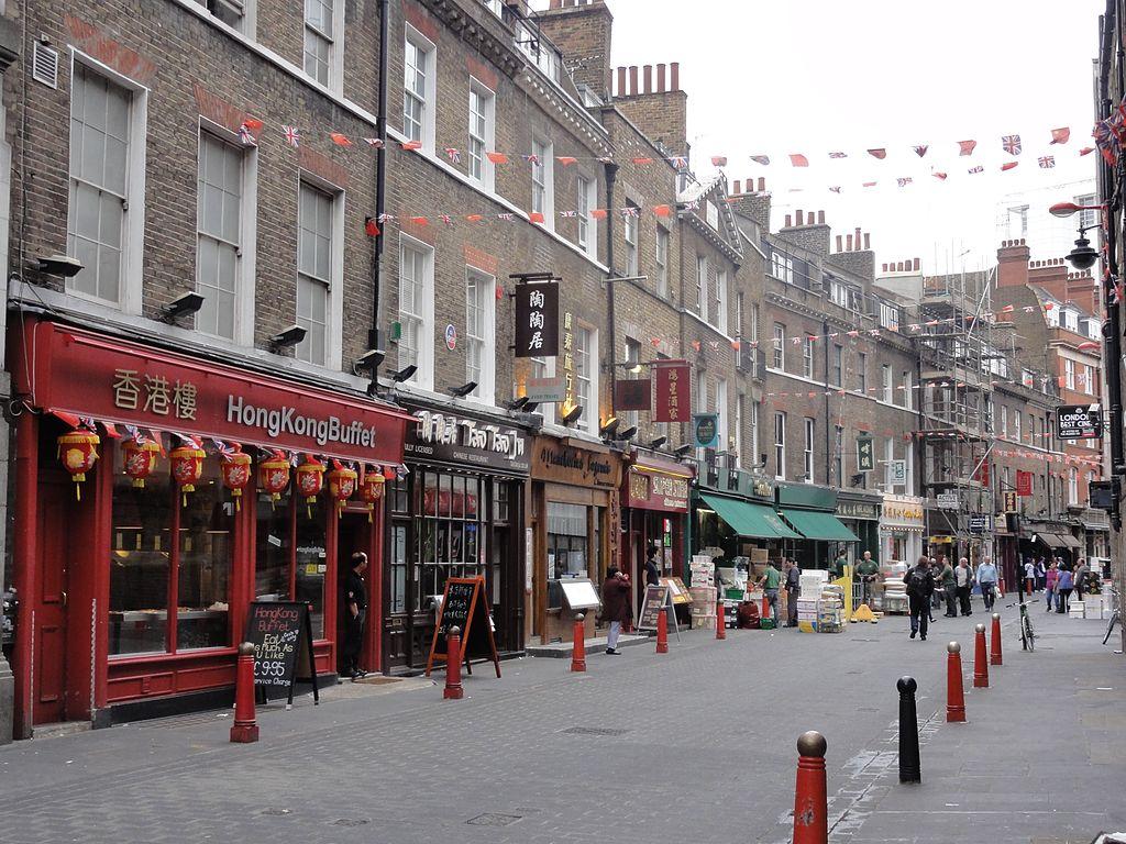 Restaurants Lisle Street