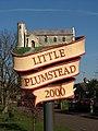 Little Plumstead - village sign - geograph.org.uk - 685766.jpg