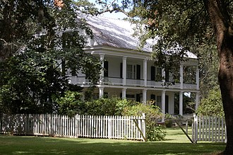 National Register of Historic Places listings in Iberville Parish, Louisiana - Image: Live Oak Plantation 11