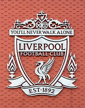 Liverpool FC crest, Main Stand.jpg