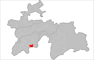 Location of Hamadoni District in Tajikistan.png