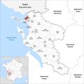 Locator map of Kanton Lagord 2019.png