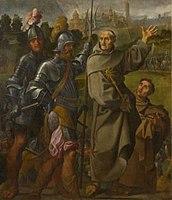 Lodovico Carracci, Saint Bernardin de Sienne délivrant la ville de Carpi de ses ennemis.jpg