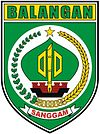 Official seal of Balangan Regency (Kabupaten Balangan)
