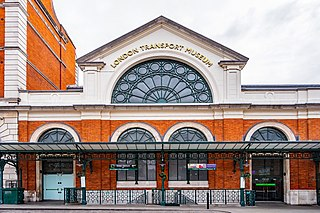 Transport museum in Covent Garden, London