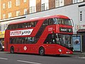 London United bus LT91 (LTZ 1091), route 9, 26 October 2013 (1).jpg