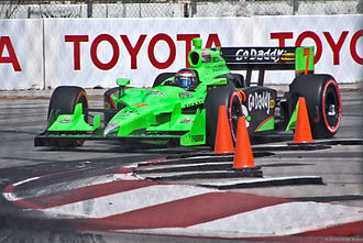 GoDaddy - Image: Long Beach 2011 GP Danica Patrick