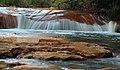 Long exposure of a small falls near Douglas Falls, WV (5516112857).jpg