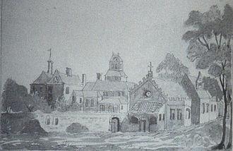 Margaret of Holland, Countess of Henneberg -  The castle of Henneberg family in Loosduinen