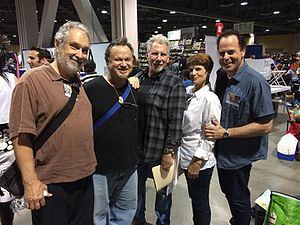 Loren Lester - Lester with Bill Ratner, Gregg Berger, Mary McDonald-Lewis, and Jerry Houser