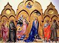 Lorenzo Monaco, Annunciation triptych, 1409, Uffizi, Florence.jpg