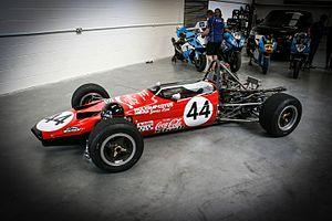 Lotus 59 - James Hunt's Lotus 59 Formula 3 car from 1970