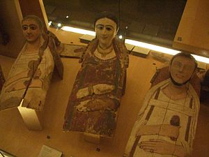 Portraiture in ancient Egypt - Egyptian funerary masks