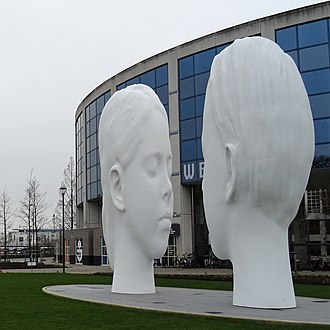 Leeuwarden - Love Fountain by artist Jaume Plensa