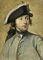 Ludolf Bakhuysen II (1717-82). Schilder en militair, kleinzoon van de zeeschilder Ludolf Bakhuysen I Rijksmuseum SK-A-2191.jpeg