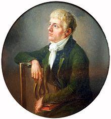 Der junge Caspar David Friedrich von J. L. Lund (1800) (Quelle: Wikimedia)
