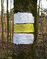 Lusowo, yellow trail.JPG