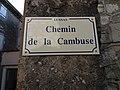 Lussas - Chemin de la Cambuse, plaque.jpg