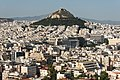 Lycabettus hill from Acropolis Athens Greece.jpg