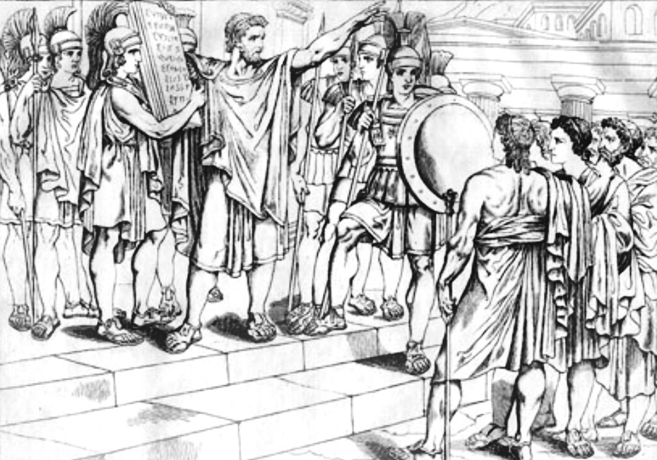 Lycurgus as legislator