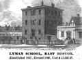 LymanSchool Snow HistoryOfBoston 1828.png