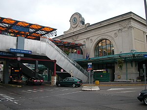 Gare de Lyon-Perrache - The frontage of the station