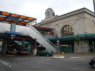 railway station in Lyon, France