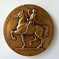 Médaille Royaume de Belgique Exposition Universelle de Bruxelles 1910. Graveur Godefroid Devreese (2).jpg